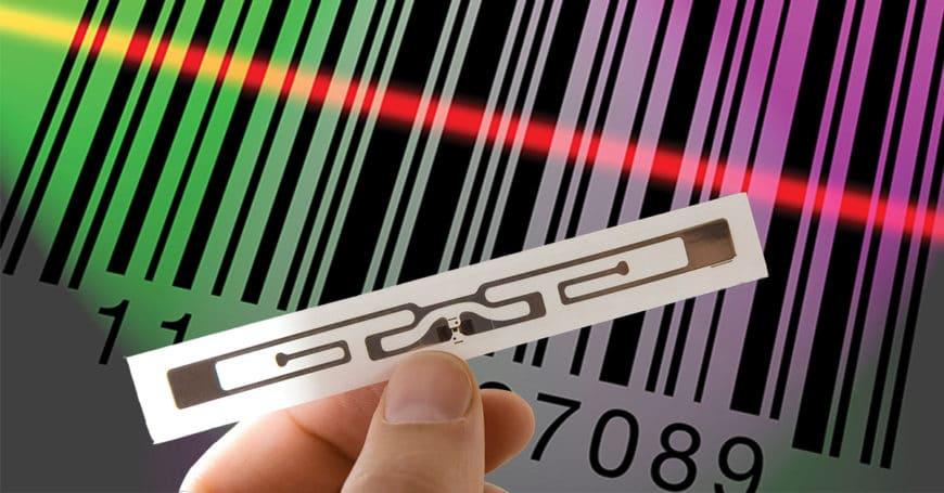 RFID x Código de barras